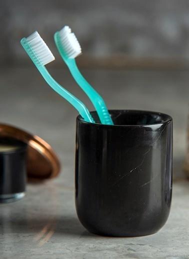 Mat For Home Mermer Nero Diş Fırçalık Renkli